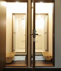 シャワー室の写真画像