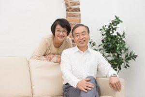 シェアハウスのオーナー夫婦の写真画像